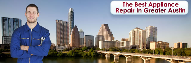 Schedule your appliance service appointment in Austin, TX 78799 today.